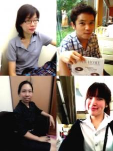 ทีมครูคนไทยที่สอนคอร์สโทอิครับรองผลให้กับสถาบันเรา