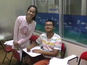 การฝึกเบื้องต้นให้รักในภาษาอังกฤษ